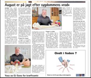 Artikler: Kraniosakral Klinik i Sorø Avis oktober 2017